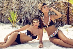 Zingara swimwear fashion photoshoot