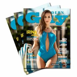 Modern Guy Mag cover with Irina Ansell by J.Luzan Tropicpic