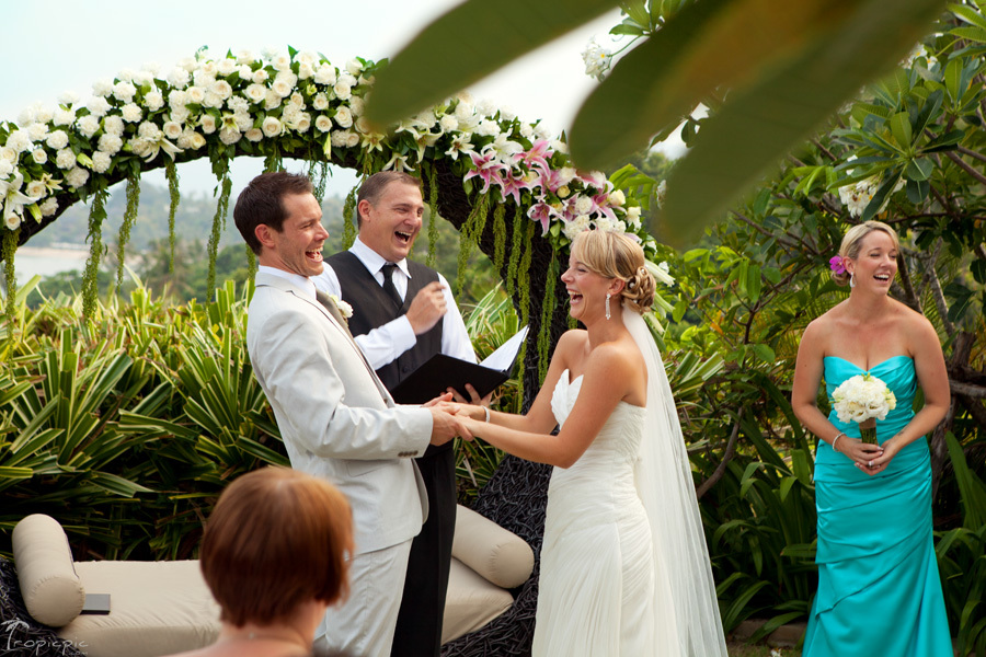 Destination wedding ceremony images