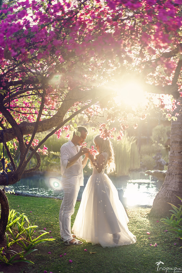 Wedding photography in Bali TropicPic