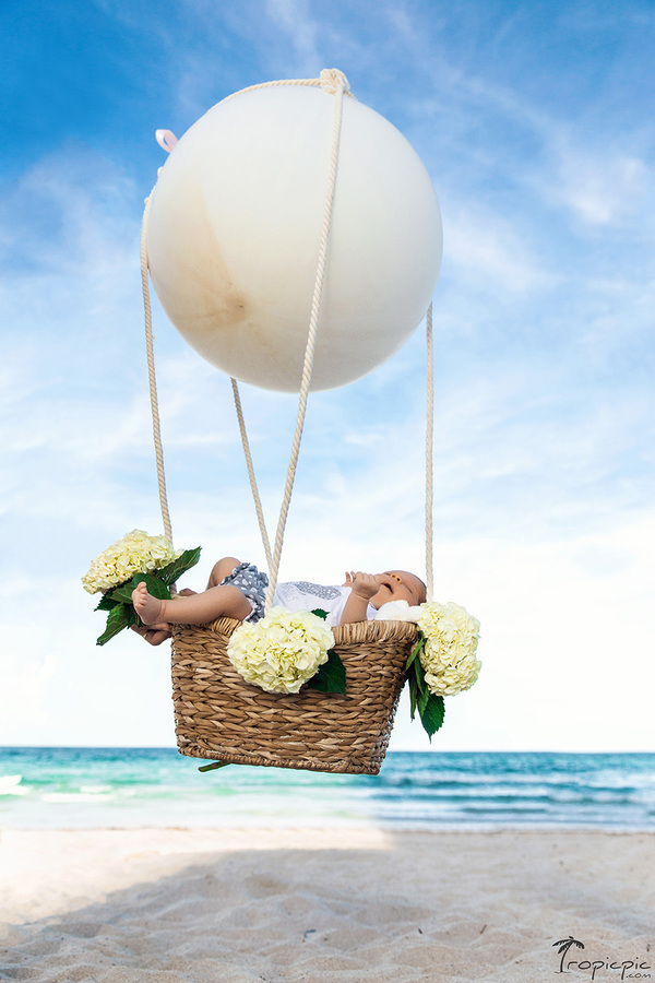 creative ideas for newborn photoshoot Miami