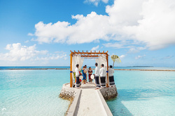 wedding photography in Maldives
