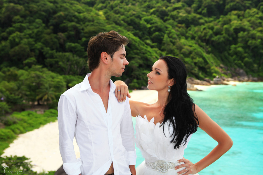 Top bridal and honeymoon photographer