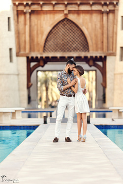 romantic ideas in Dubai - photoshoot
