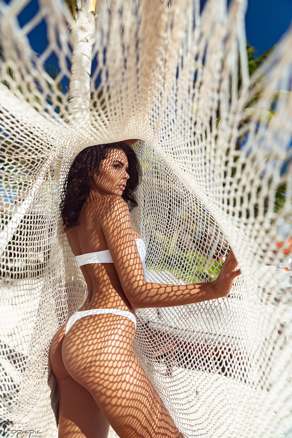 Fashion swimwear photographer Mexico Cancun Tulum