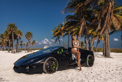 Photoshoot luxury cars Miami