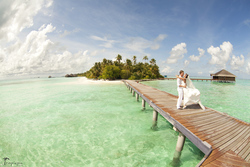 Luxury pre wedding photography in Maldives