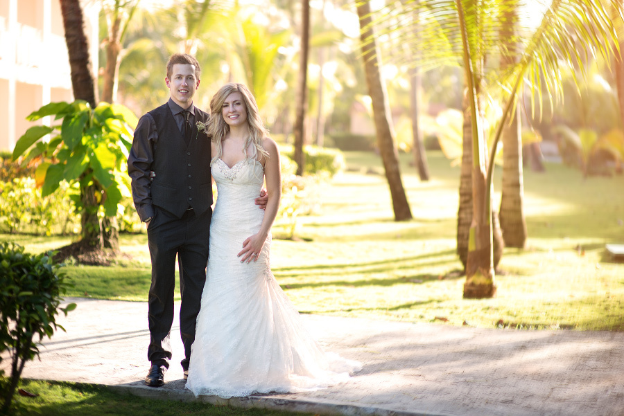 Wedding photoshoot in Dominicana